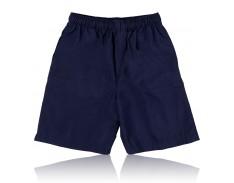 Shorts Elastic Waist Navy CCPS