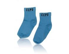 Sock Pwd Blue Girls CCPS